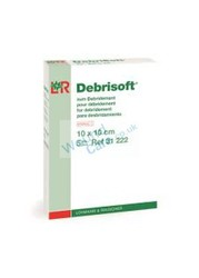 Explore Debrisoft Dressings 10cm x 10cm Pad Pack Size 5 by Wound-care