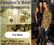 London's Top Hairdressers - Stuart Phillips Salon