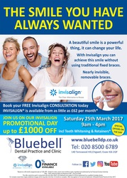 Get an amazing £1000 off on Invisalign Dental Treatment