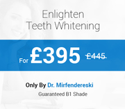 Avail Enlighten Teeth Whitening with £50 Discount
