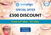 Offers on Invisalign treatment at Bluebell dental practice.