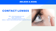Contact Lenses in Essex & London