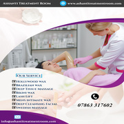 Facials London | Ashanti Treatment Room